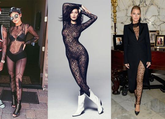 0e1bb4a8eb Black Lace Bodysuits Are the New Naked