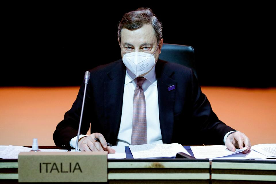 Italy's Prime Minister Mario Draghi (Photo: FRANCISCO SECO via Getty Images)