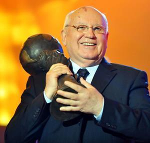 Nobel Laureate Mikhail Gorbachev is one of many famous supporters of the Energy Globe