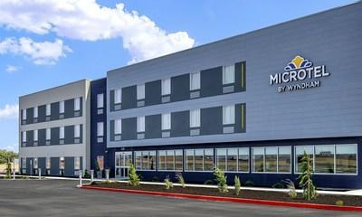 The 63-room Microtel® by Wyndham in George, Wash. is the first hotel in the world to feature Microtel's innovative and highly efficient Moda prototype.