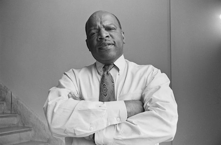 Representative John Lewis, D-Ga. August 13, 1991 (Photo by Laura Patterson/CQ Roll Call via Getty Images) (Photo: CQ Archive via Getty Images)