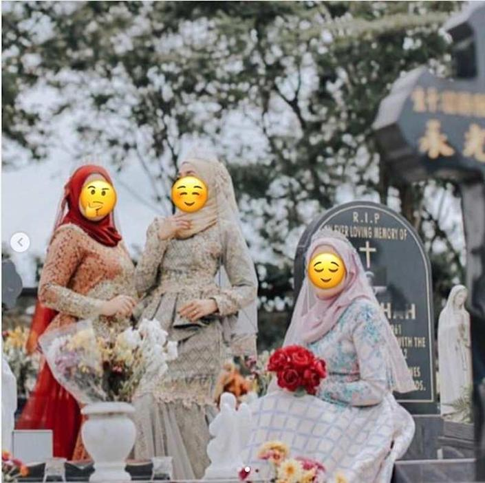 The boutique owner who photographed the images said she had no intention of ridiculing other religions. ― Picture via Instagram/@pencetusummah_amin