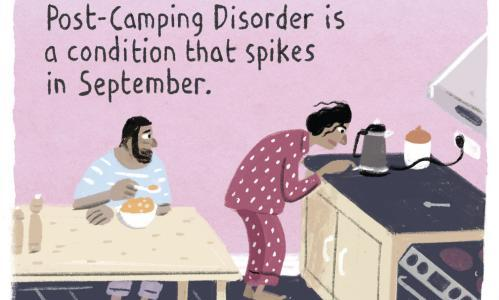 Stephen Collins on the end of summer – cartoon