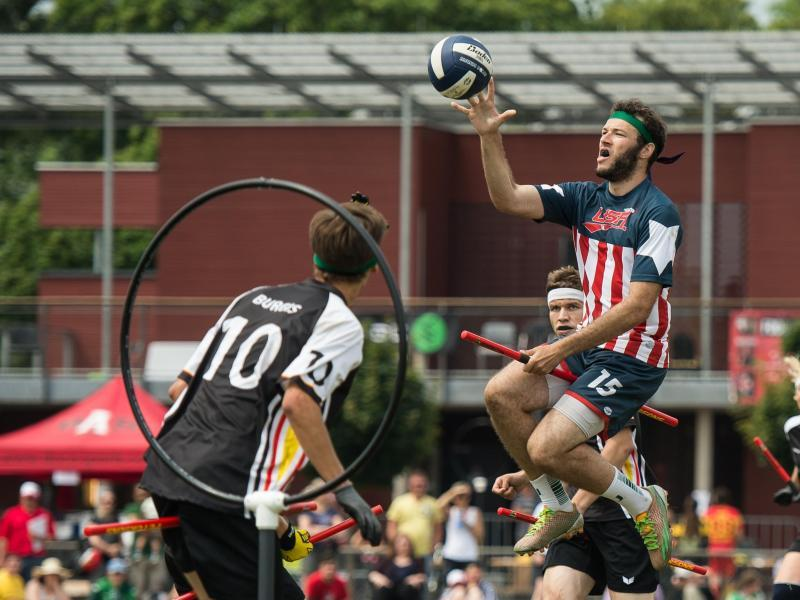 Auf den Spuren Harry Potters: Quidditch-WM in Frankfurt