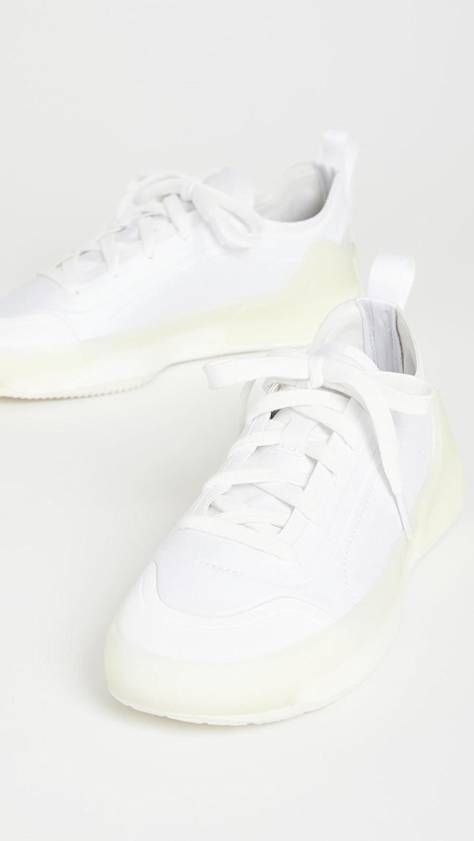 """<p><span>Adidas by Stella McCartney Asmc Treino Sneakers</span> ($180)</p> <p>""""I'm all about athletic sneakers these days, I rock them with leggings, sweatsuits, jeans, and even trousers. I want something new that's not too athletic but still sporty and stylish and these asneakers are the ones. Not only do they look cool, but I know they'll be comfy and perfect everyday."""" - Krista Jones, associate editor, Shop</p>"""