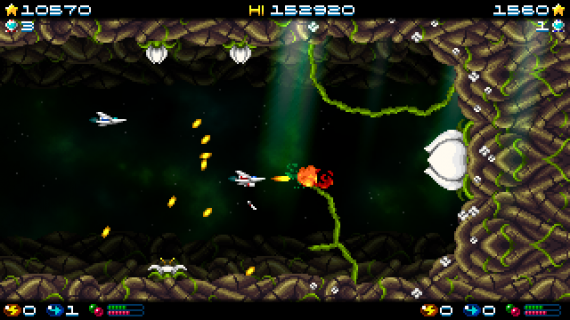 'Super Hydorah' is a throwback game for fans of being blasted to smithereens by an endless stream of lasers.