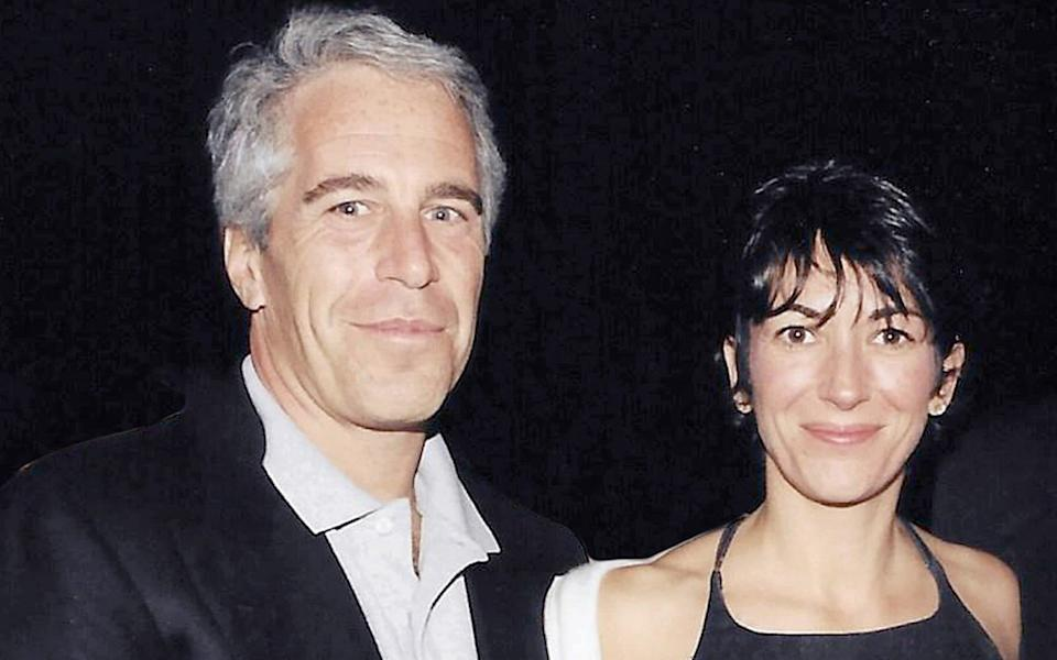 Ghislaine Maxwell with Jeffrey Epstein, who was found hanging in his cell last year in a Manhattan jail while awaiting trial on sex trafficking charges - Splash News/SplashNews.com