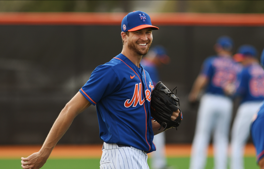 DeGrom in Spring Training 2020