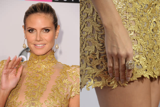 Heidi Klum hat stets ein perfektes Nageldesign (Bild: Getty Images)