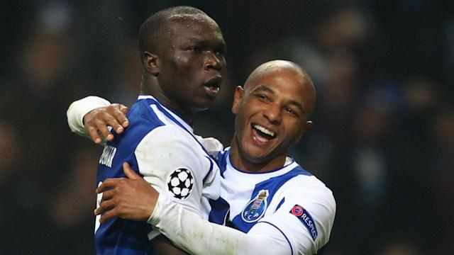 Vincent Aboubakar's double helped Porto secure second place in Champions League Group G with a rampant win over Monaco.