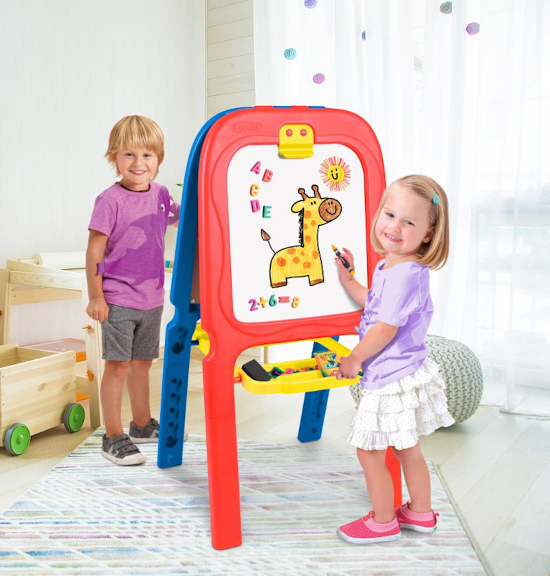 Crayola 3-in-1 Double Easel with Magnetic Letters. (Photo: Walmart)