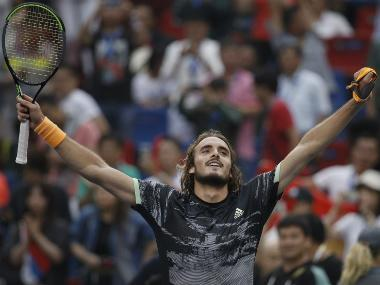 Shanghai Masters 2019: Stefanos Tsitsipas says he 'scares' Big Three after beating Novak Djokovic