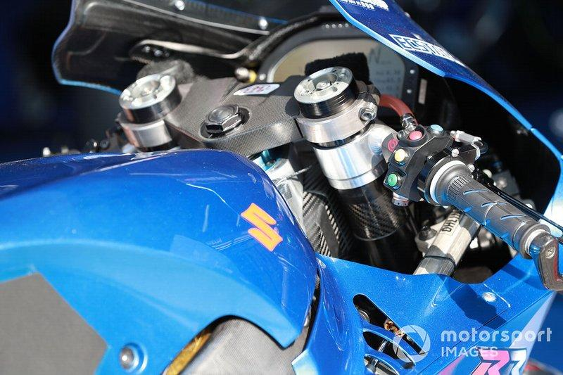 "Suzuki GSX-RR<span class=""copyright"">Gold and Goose / Motorsport Images</span>"