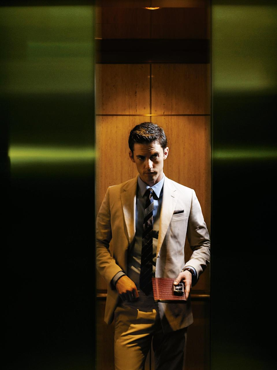 Your most summer-friendly khaki cotton suit that helps you keep your cool at the office.
