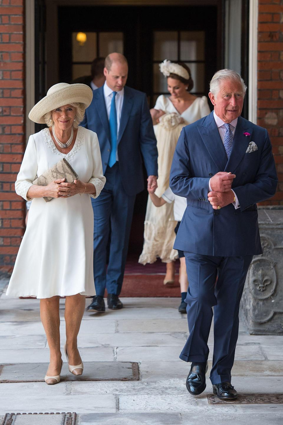 It's even rumoured that Prince Charles' wife, Camilla Parker Bowles, has begun to mimic her husband's demands and brings her own drink with her when she travels, so there's no fear of either of them being spiked. Photo: Getty Images