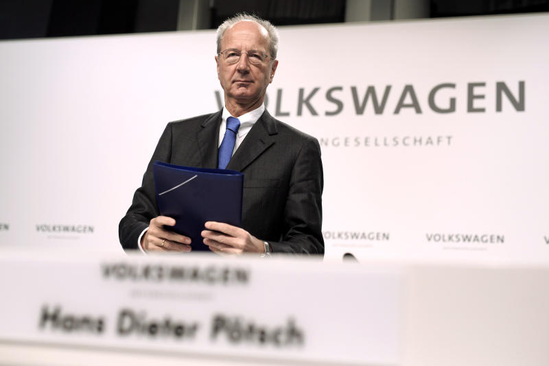 Volkswagen's Board Is Reining In Executive Pay (a Little)
