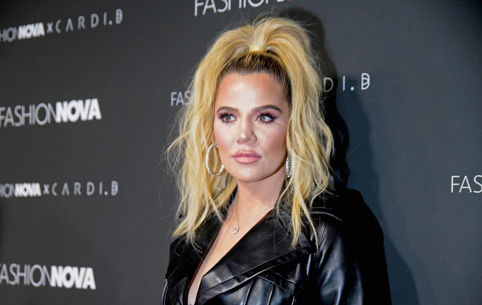 Khloé Kardashian thanked her fans for their support following the Thompson-Woods needs. (Photo: Michael Tullberg/WireImage)