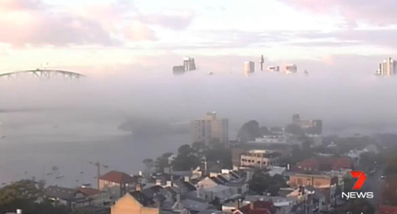 Sydney fog delays some flights