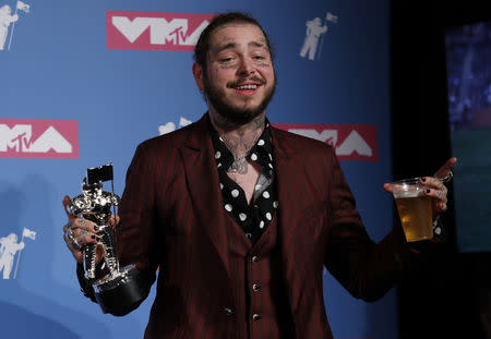 Plane with rapper Post Malone lands safely after blown tires