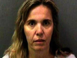 Kathia Maria Davis, 46, will serve 18 months in jail for sexually assaulting two of her son's hockey teammates -- NBC Los Angeles