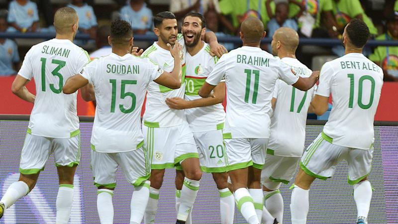 Two-goal hero Mahrez, Slimani & Feghouli react as Algeria qualify for 2019 Africa Cup of Nations