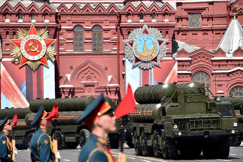 Defying a warning from its US NATO ally that it should renounce the deal, Turkey will soon take delivery of Russian S-400 air defence missile systems, seen at a Red Square military parade