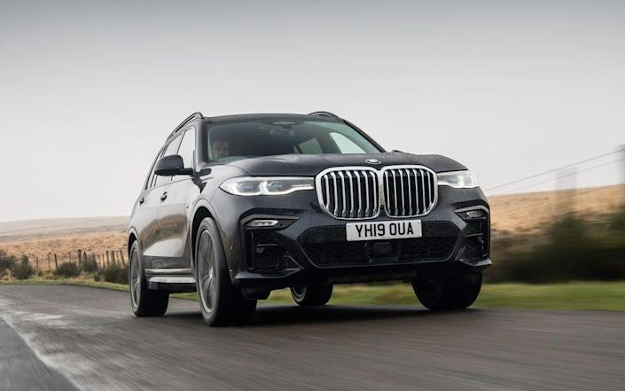 BMW X7 - reviewed May 2021