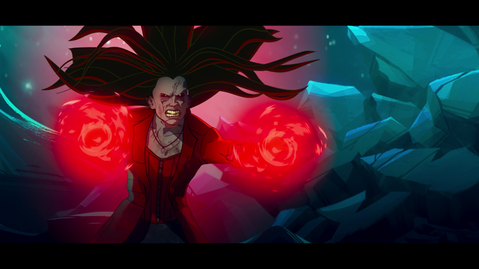 Zombie Scarlet Witch in What If...? (Screenshot: Disney+)