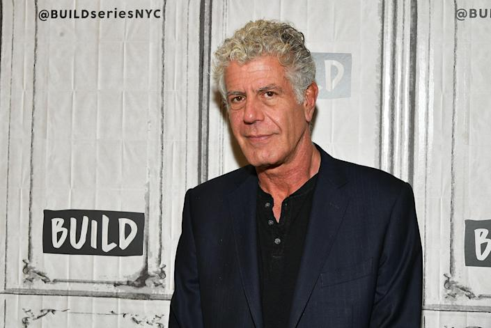 Anthony Bourdain at Build Studio in New York City last fall. (Photo: Getty Images)