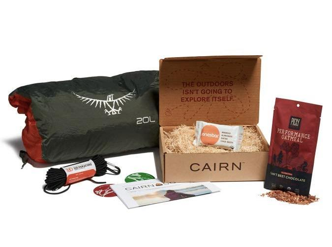 """<h2>32. Cairn</h2> <p><strong>Cost: </strong>$30/month</p> <p><strong>What you get: </strong>Three to six products</p> <p><strong>Why we love it: </strong>Create a profile that tells <a href=""""https://www.amazon.com/gp/product/B07KC11QFV/ref=as_li_ss_tl?ie=UTF8&linkCode=sl1&tag=pur0e4-20&linkId=8a7bdeb8a0234b1d67a9a7c07be1a9f2&language=en_US"""" rel=""""nofollow noopener"""" target=""""_blank"""" data-ylk=""""slk:Cairn"""" class=""""link rapid-noclick-resp"""">Cairn</a> about your outdoor pursuits, and expect a monthly surprise of expertly curated items fit for your adventures. So whether you're a seasoned hiker or a beginner rock climber, your box can include new-to-market apparel, gear, snacks, skincare and emergency tools that match your activity, worth up to $50.</p> <p><a class=""""link rapid-noclick-resp"""" href=""""https://www.amazon.com/gp/product/B07KC11QFV/ref=as_li_ss_tl?ie=UTF8&linkCode=sl1&tag=pur0e4-20&linkId=8a7bdeb8a0234b1d67a9a7c07be1a9f2&language=en_US"""" rel=""""nofollow noopener"""" target=""""_blank"""" data-ylk=""""slk:Sign up for Cairn"""">Sign up for <em>Cairn</em></a></p>"""