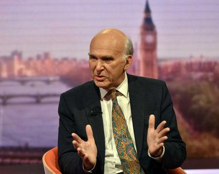 Vince Cable calls for a second Brexit referendum for British people
