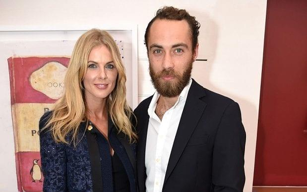Donna Air and James Middleton - Credit: Richard Young/REX Shutterstock