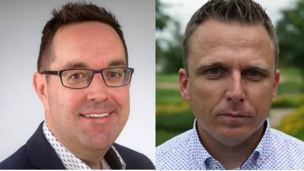 West-end suburban Coun. Glen Gower and rural Coun. Scott Moffatt were named co-chairs of the planning committee on July 21, 2021. (CBC News - image credit)