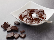 <p>Finely chop chocolate and put into a microwave-safe bowl. Microwave for 30-second intervals, stirring after each, until melted and smooth.</p>