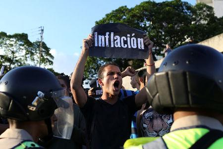Water Cannons Repel Venezuela Anti-Government Protests