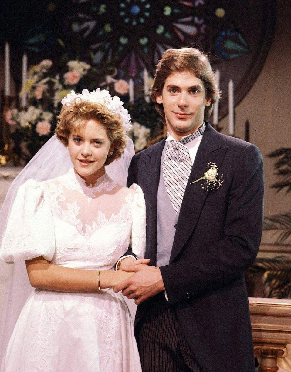 <p>Everyone's favorite rom-com queen got her start as Betsy on <em>As the World Turns</em>.</p>
