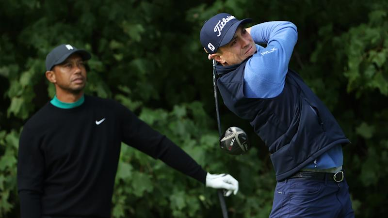 Tiger Woods grouped with Justin Thomas, Collin Morikawa at U.S. Open