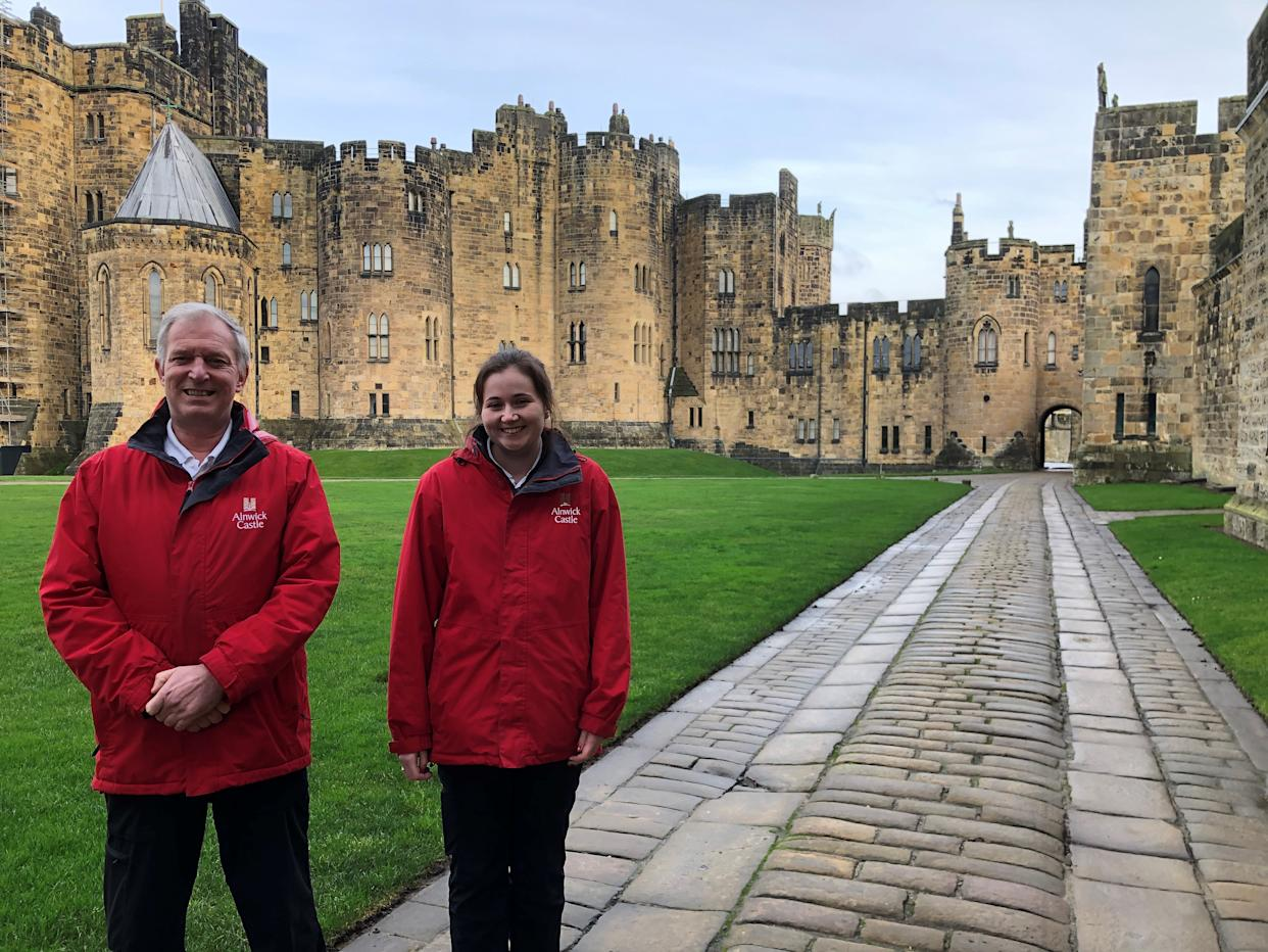 Alnwick Castle in Northumberland is looking to hire trainee wizards among other roles
