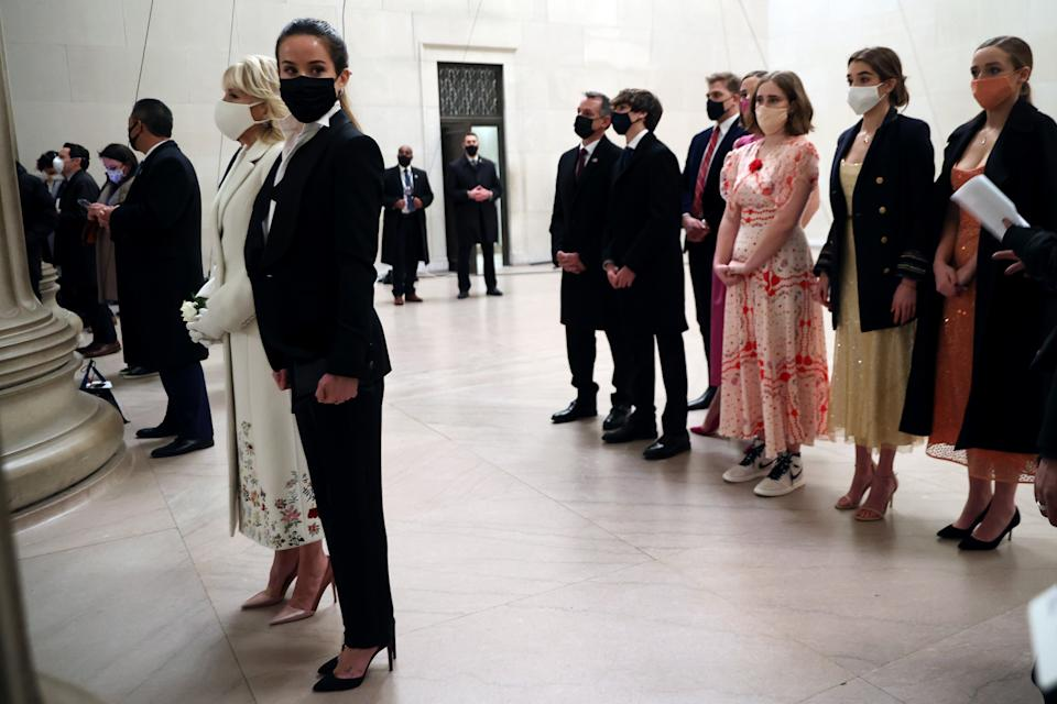 People loved the outfits worn by the Biden familyGetty Images