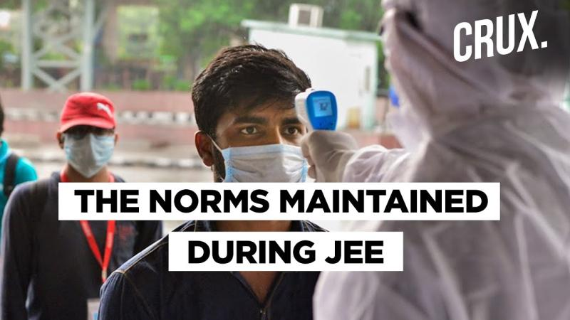 As JEE- Mains Commence Here Are The New Protocols Of Conducting The Exams