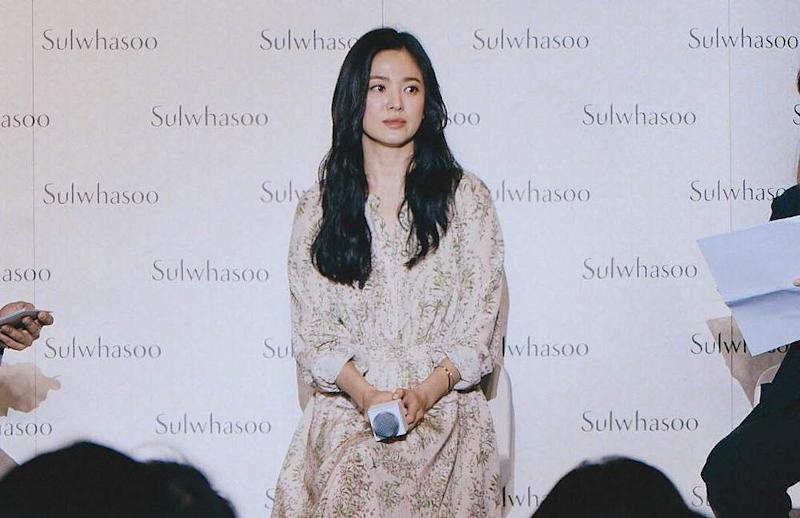 South Korean actress Song Hyo-kyo is back to being single after announcing her divorce to fellow actor Song Joong-ki has been finalised July 22, 2019. — Picture courtesy of Instagram/kyo1122