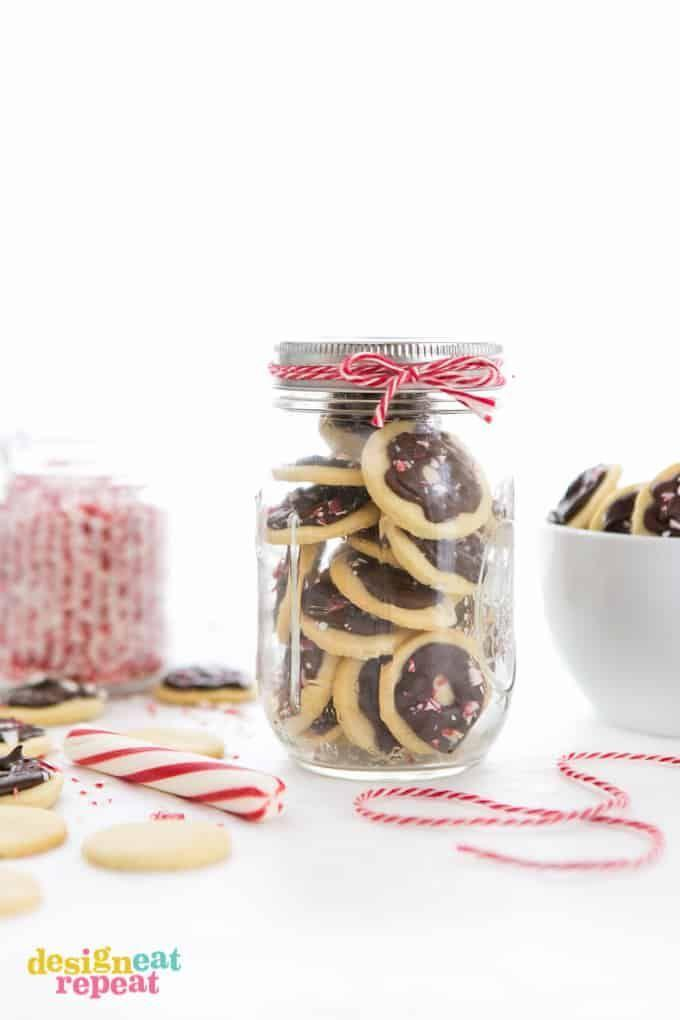 """<p>A bite-sized snack that's sure to satisfy any after dinner craving. Bonus: It's also a great option for holiday gifting. </p><p><a href=""""https://www.designeatrepeat.com/dark-chocolate-peppermint-butter-wafers/"""" rel=""""nofollow noopener"""" target=""""_blank"""" data-ylk=""""slk:Get the recipe"""" class=""""link rapid-noclick-resp"""">Get the recipe</a>.</p>"""