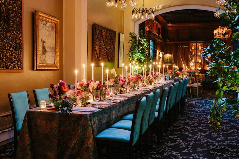 Rebecca Gardner's tablescapes are, rightly, the stuff of legend. Behold.