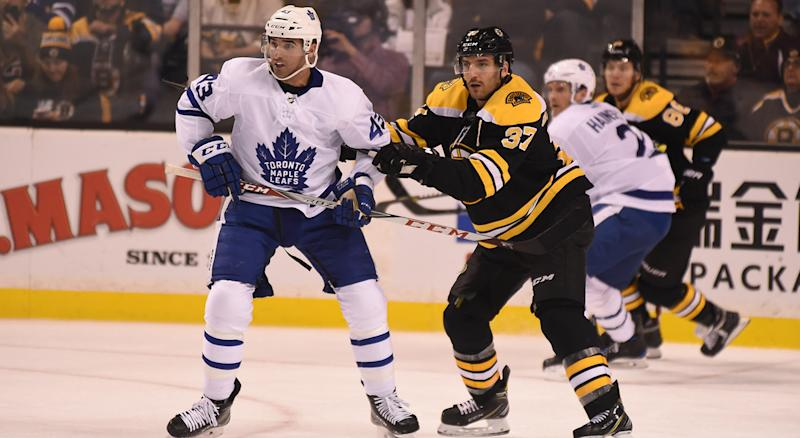 Leafs' Nazem Kadri Delivers SAVAGE Headshot to Bruins' Tommy Wingels