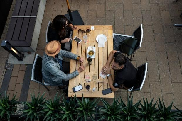 With indoor dining banned as part of an expanded set of public health rules, restaurants will need to rely on takeout and patio service to survive the next three weeks. (Ben Nelms/CBC - image credit)