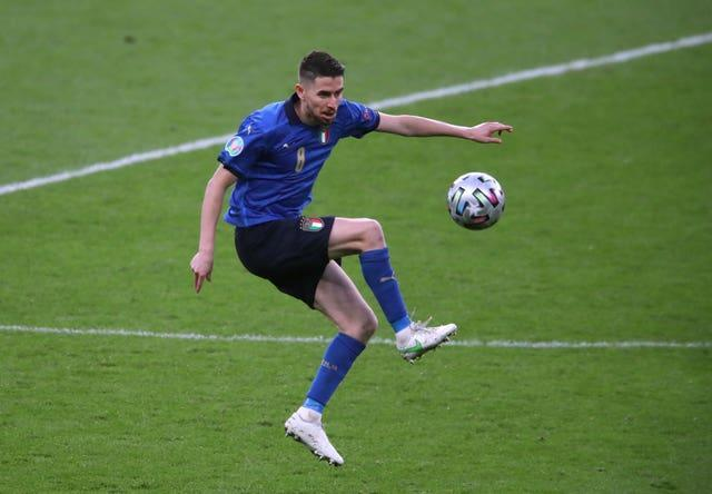 Italy's Jorginho has been one of the most impressive players of the tournament