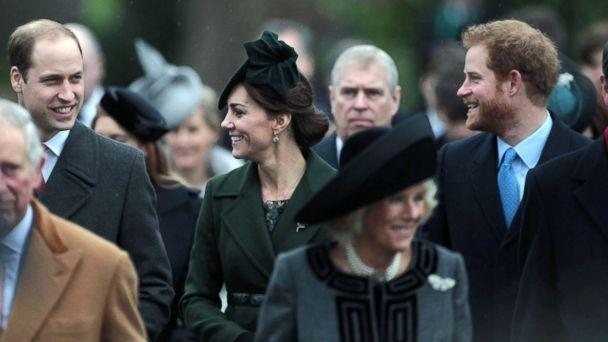 PHOTO: Members of The Royal Family attend the Christmas Day Service at St. Mary Magdalene Church on the Sandringham Estate, Dec. 25, 2015, Sandringham, Norfolk, U.K. (KGC-22/STAR MAX/IPx)
