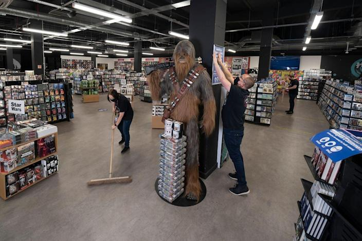 HMV is among retailers to have reopened stores from the latest lockdown (HMV)
