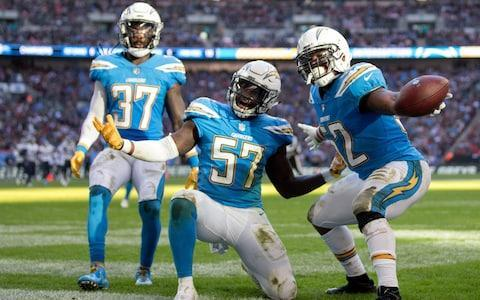 <span>The Chargers gave London a good game in week seven, defeating the Titans</span> <span>Credit: (Clive Rose/Getty Images) </span>