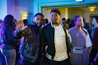 """<p>Based on the Chicago South Side hip-hop scene, this coming-of-age drama stars Anthony Anderson as a disgraced former artist manager, and 17-year-old newcomer Khalil Everage as the agoraphobic hip-hop prodigy he takes under his wing. <strong>Orange is the New Black</strong>'s Uzo Aduba and artists Dave East and Dreezy are also in the film, helping to round out the cast of complex characters that make this movie so special. </p> <p><a href=""""http://www.netflix.com/title/80216302"""" class=""""link rapid-noclick-resp"""" rel=""""nofollow noopener"""" target=""""_blank"""" data-ylk=""""slk:Watch Beats on Netflix"""">Watch <strong>Beats</strong> on Netflix</a>.</p>"""